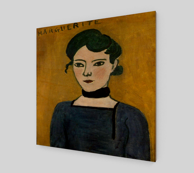 Portrait de Marguerite by Henri Matisse Paintings
