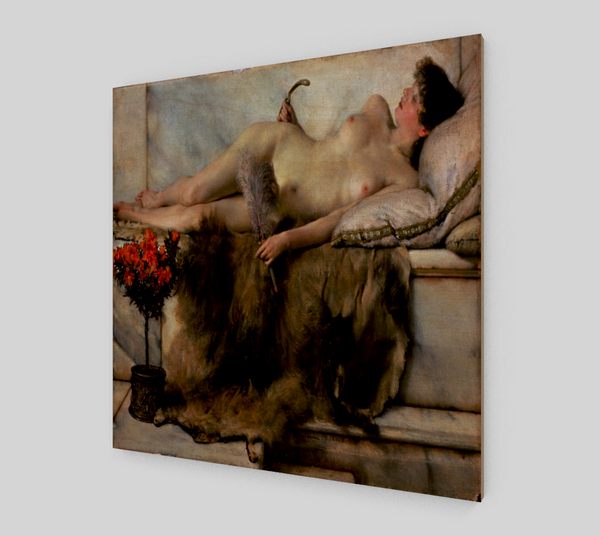 In the Tepidarium by Lawrence Alma Tadema | Fine Arts Prints