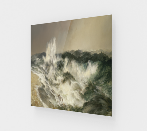 The Much Resounding Sea by Thomas Moran [Acrylic Wall Art Decor]