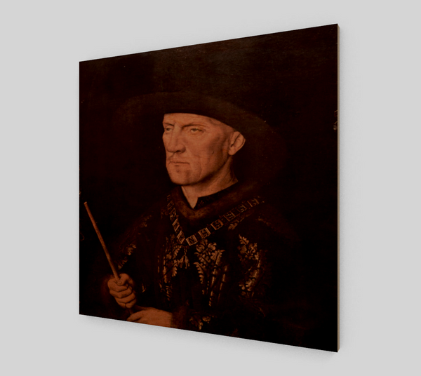 Portrait of Baudouin de Lannoy by Jan van Eyck