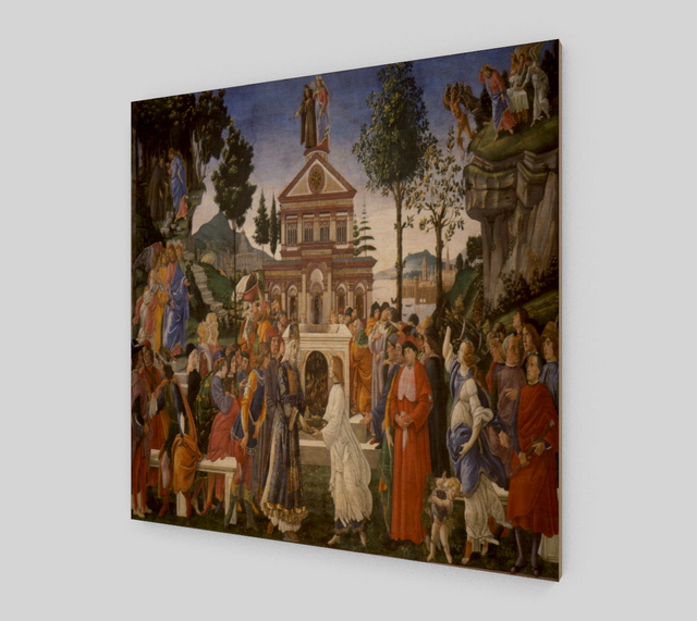 Temptations of Christ by Sandro Botticelli | Canvas Fine Arts