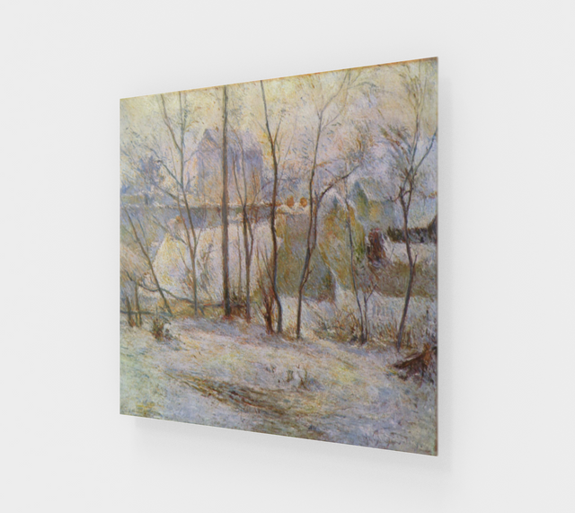 Winter Landscape by Paul Gauguin | Acrylic Wall Art Decor