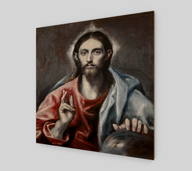 Christ Blessing The Saviour of the World by El Greco