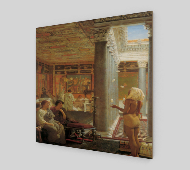 Egyptian Juggler by Lawrence Alma Tadema | Fine Arts Prints