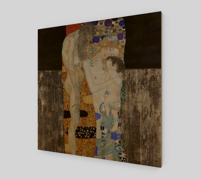 The Three Ages of Woman by Gustav Klimt | Fine Arts Prints