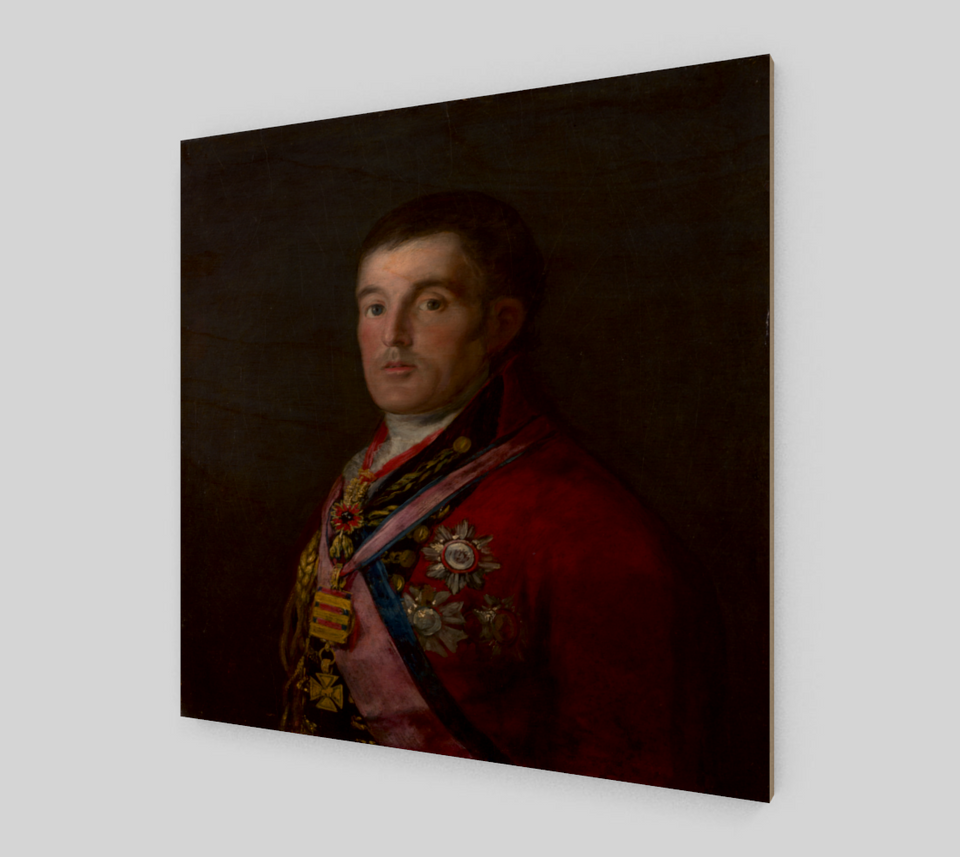 Portrait of the Duke of Wellington by Francisco Goya