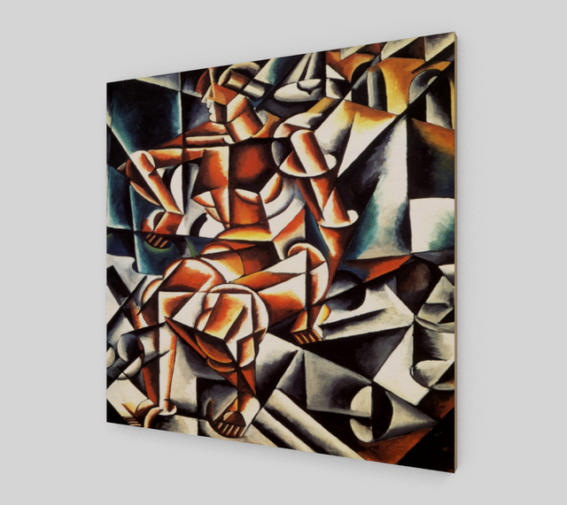Air+Man+Space by Lyubov Popova | Canvas Fine Arts - Fine Art