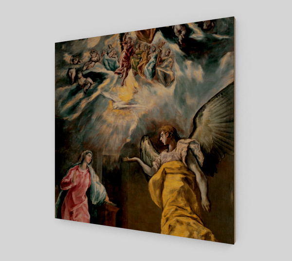 Annunciation by El Greco | Canvas Fine Art Reproduction