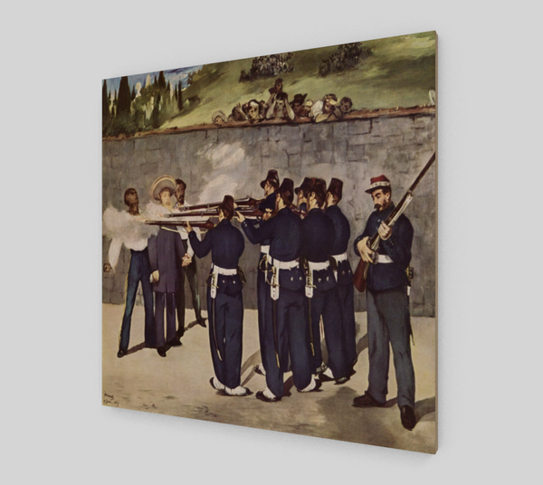 The Execution of Emperor Maximilian by Édouard Manet | Fine Art