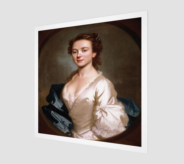 Miss Craigie by Allan Ramsay [Museum Quality Fine Art Prints]