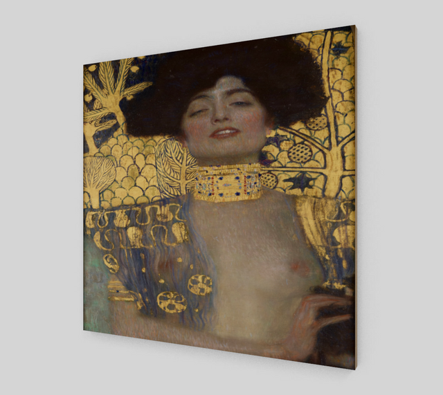 Judith and the Head of Holofernes by Gustav Klimt | Fine Arts