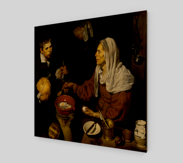 Old Woman Frying Eggs by Diego Velazquez | Canvas Fine Arts