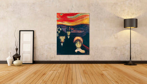 Anxiety by Edvard Munch [Museum Quality Art Reproductions] - Fine Art