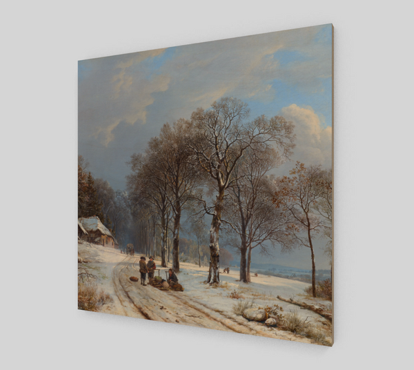 Winter Landscape by Barend Cornelis Koekkoek | Canvas Fine Arts