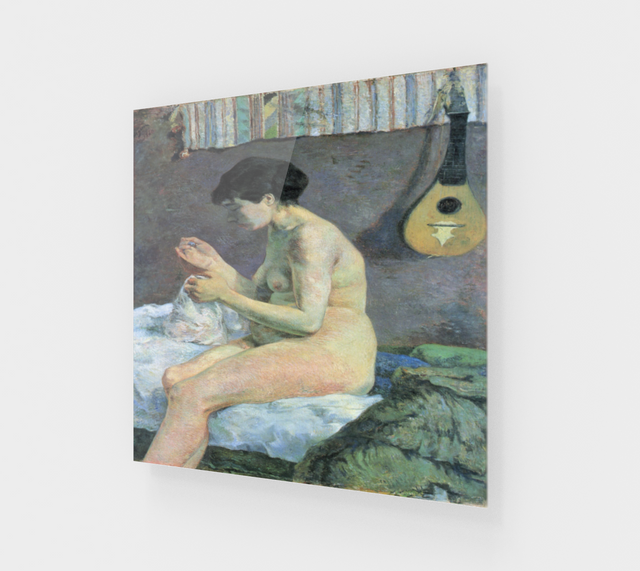 Study of a Nude by Paul Gauguin | Acrylic Wall Art Decor