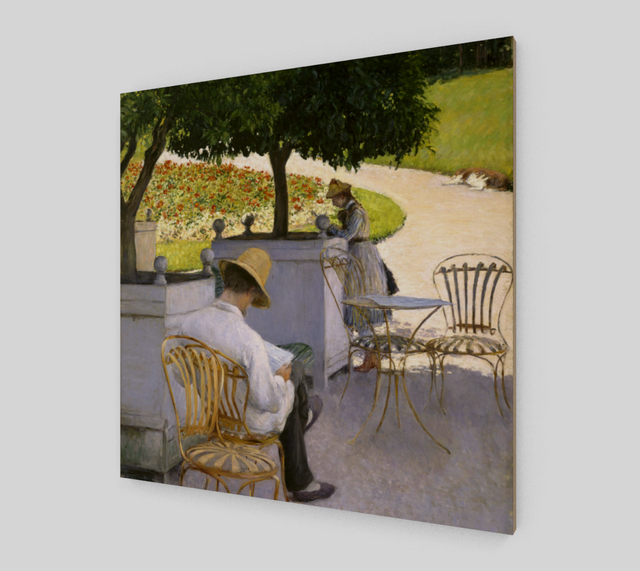 The Orange Trees by Gustave Caillebotte | Canvas Fine Arts