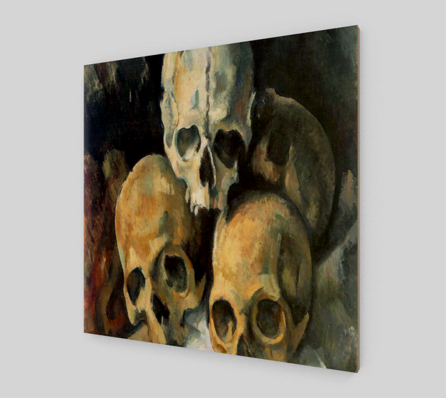 Pyramid of Skulls by Paul Cézanne | Fine Art Reproductions