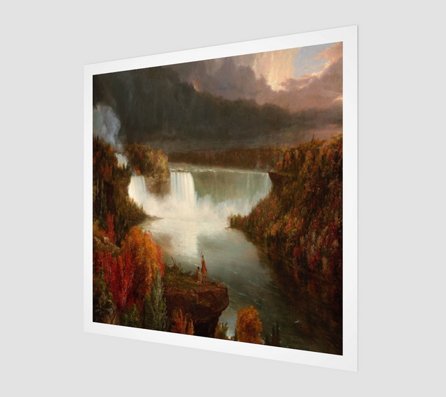 Distant View of Niagara Falls by Thomas Cole | Fine Art Prints