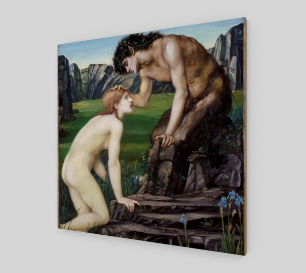 Pan and Psyche by Sir Edward Coley Burne-Jones | Fine Arts