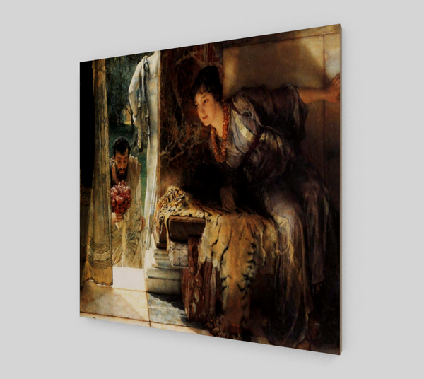 Welcome Footsteps by Lawrence Alma Tadema | Fine Arts Prints