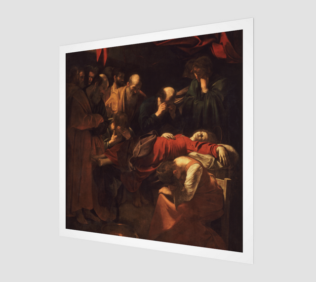 Death of the Virgin by Michelangelo Merisi da Caravaggio