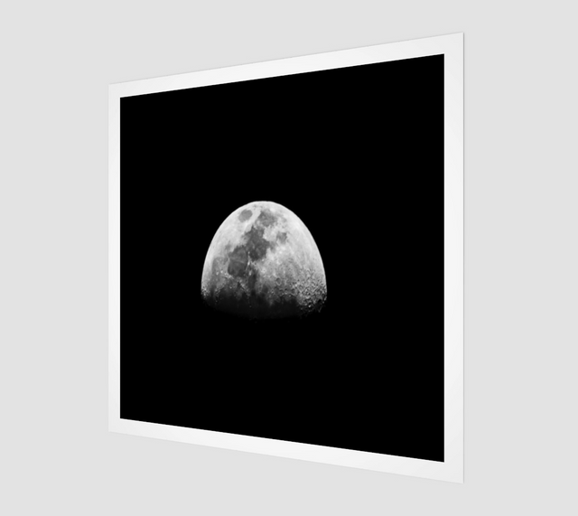 Other Side Of The Moon [Museum Quality Fine Art Prints]