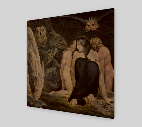 The Night of Enitharmon's Joy by William Blake [Wooden Canvas Prints]