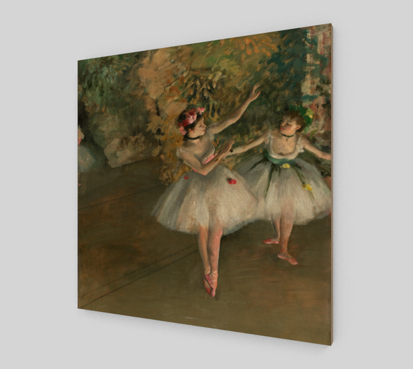 Two Dancers on Stage by Edgar Degas | Fine Art Reproductions