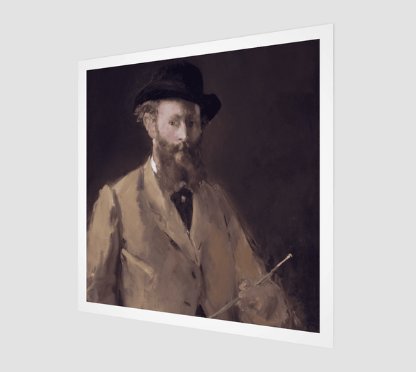 Buy famous artwork Édouard Manet Self-portrait Painting With A Palette In 1878