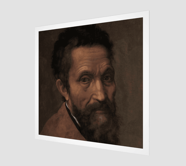 Buy famous artwork Michelangelo di Lodovico Portrait - A painting of Michelangelo di Lodovico portrait