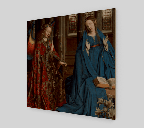 The-Annunciation-Jan-van-Eyck