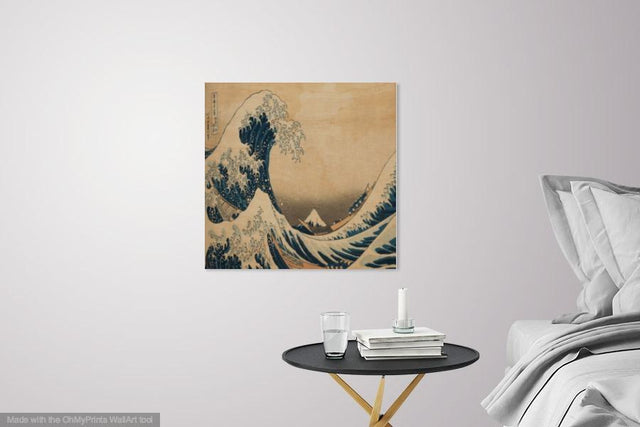 Buy famous artwork The Great Wave by Katsushika Hokusai - A painting of Great Wave off Kanagawa Japan