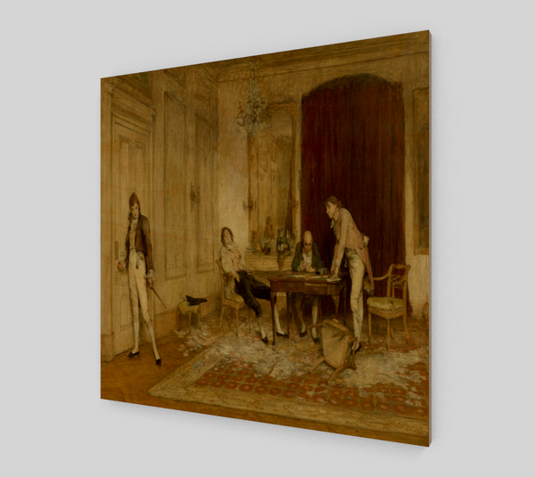 Hard hit by Sir William Quiller-Orchardson | Canvas Fine Arts