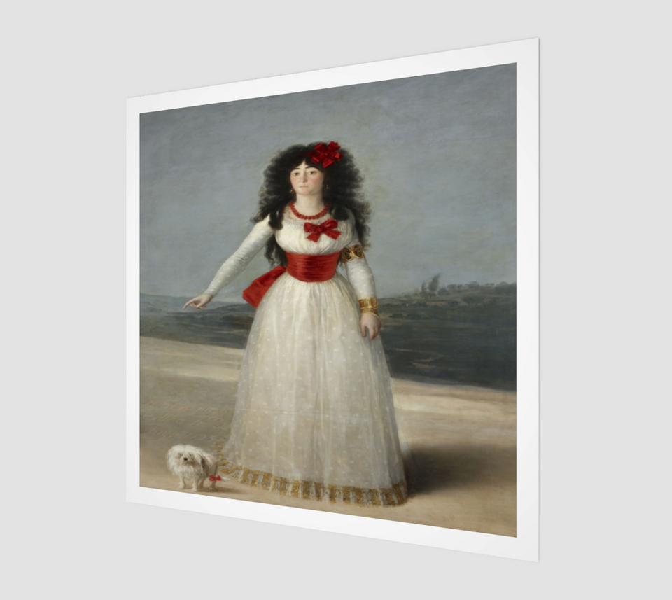 The White Duchess by Francisco Goya
