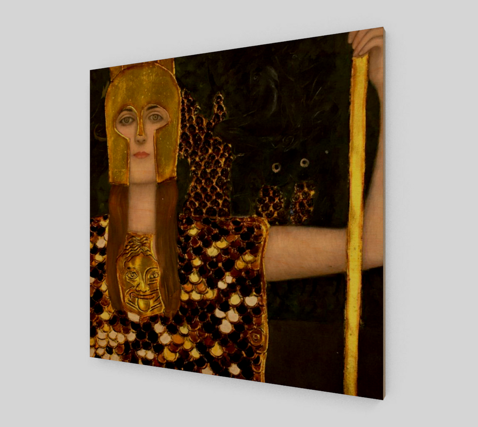 Pallas Athene by Gustav Klimt | Fine Art Reproductions