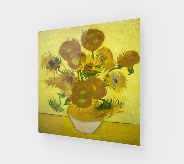 Vase with Fifteen Sunflowers by Vincent Van Gogh | Fine Arts