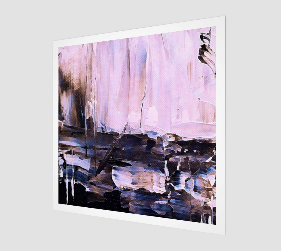 Afternoon Of Reflection - Famous Abstract Paintings [Fine Art Prints] - Fine Art