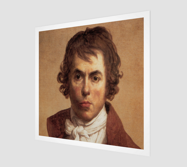 Jacques-louis David Self-portrait [Museum Quality Fine Art Prints]