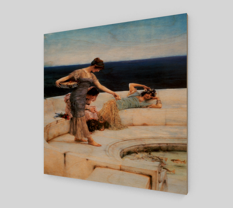 Silver Favourites by Lawrence Alma Tadema | Fine Arts Prints