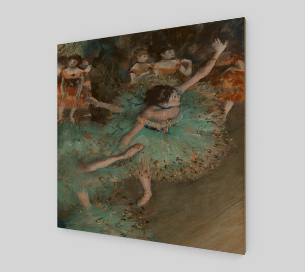 The Green Dancer by Edgar Degas | Fine Art Reproductions