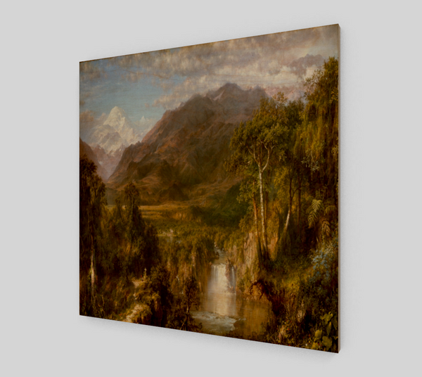 The Heart of the Andes by Frederic Edwin Church [Art Reproductions]