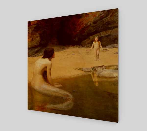 The Land Baby Famous Painting by John Collier [Art Reproductions]