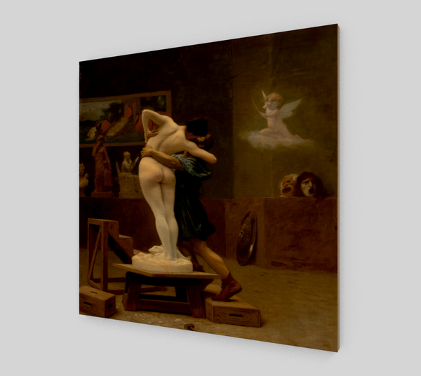 Pygmalion and Galatea by Jean-Léon Gérôme Museum-quality Art For Sale