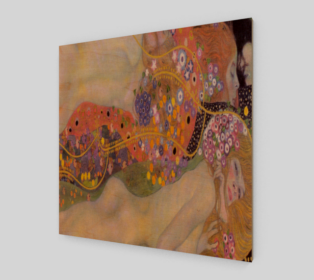 Water Serpents II by Gustav Klimt | Fine Art Reproductions