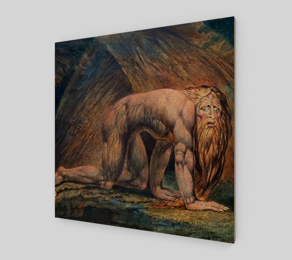 Nebuchadnezzar by William Blake [Fine Art Prints On Canvas]
