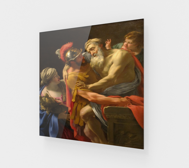 Aeneas and his Father by Simon Vouet | Museum Quality Art