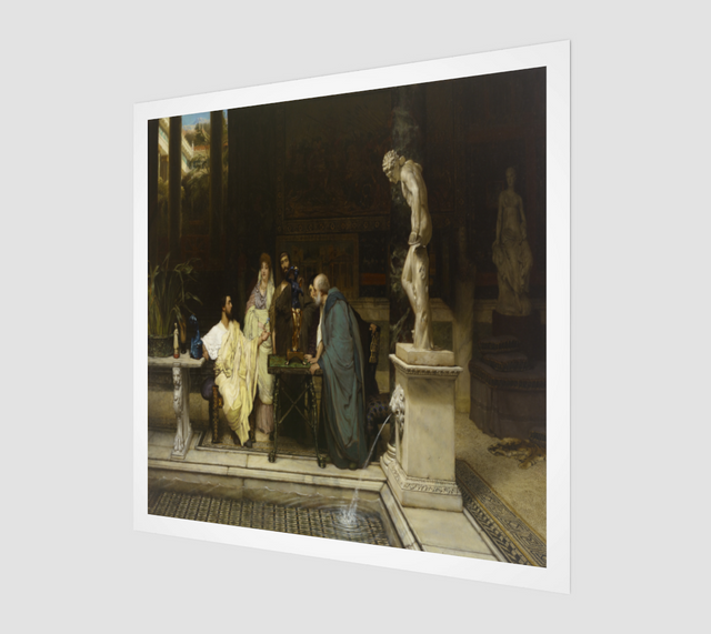 An Art Lover by Lawrence Alma Tadema Paintings | Fine Art