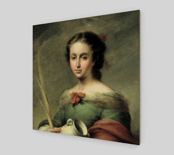 St. Rufina by Bartolome Esteban Murillo | Fine Art Prints On Canvas