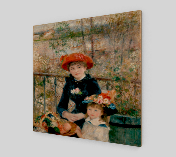 Two Sisters (On the Terrace) by Pierre-Auguste Renoir