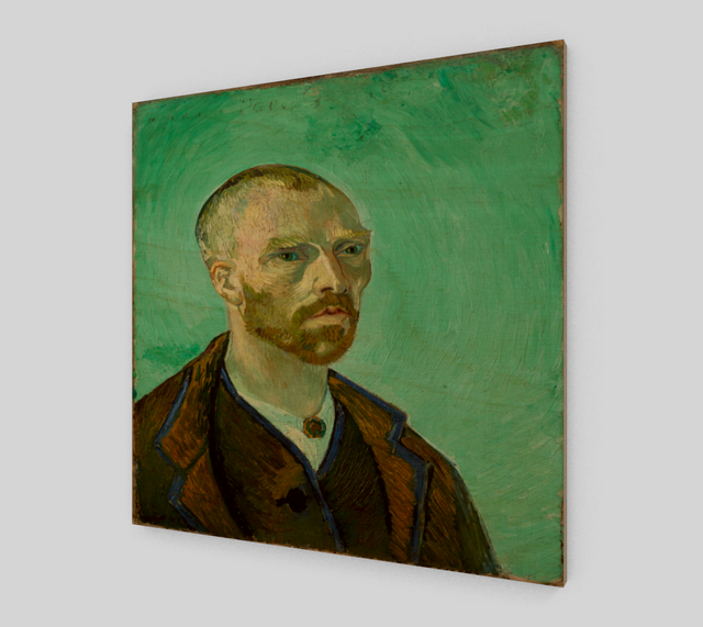 Vincent Van Gogh Self-portrait Dedicated To Paul Gauguin | Fine Arts